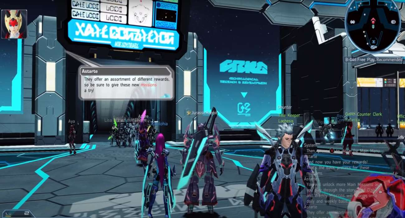 Phantasy Star Online 2 Is Now Available In North America For The Xbox One