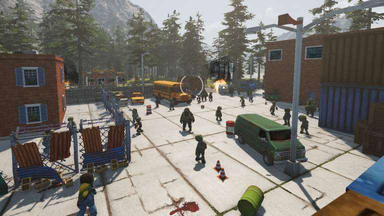 Tackle The Zombie Apocalypse In A Train Zompiercer - Now In Steam Early Access