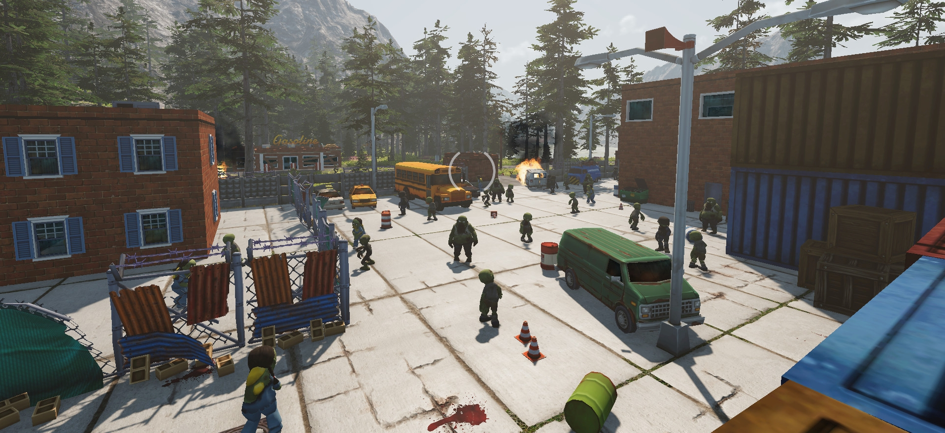 Tackle The Zombie Apocalypse In A Train Zompiercer – Now In Steam Early Access