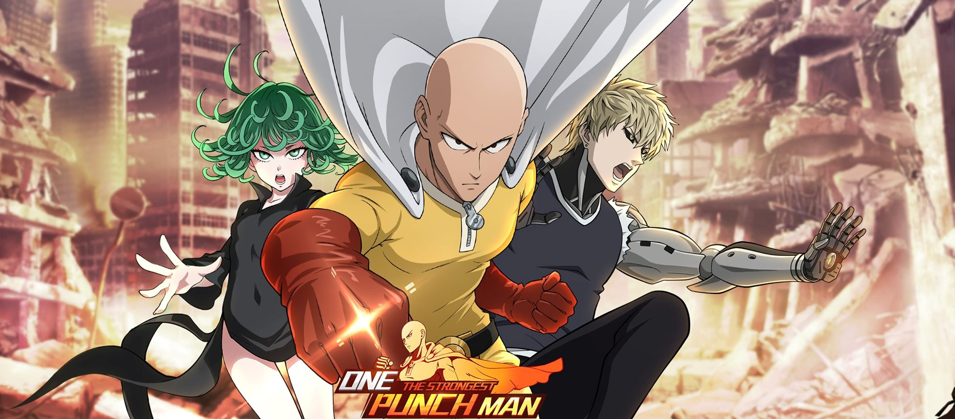 One Punch Man: The Strongest 2D Battle Card Game Announced For Mobile