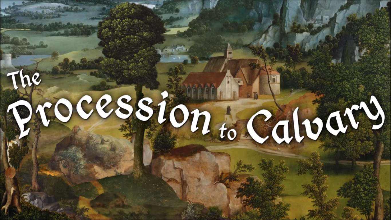 Creator Of Four Last Things Has Announced Their New Point And Click Adventure The Procession To Calvary, Now Availiable On Steam