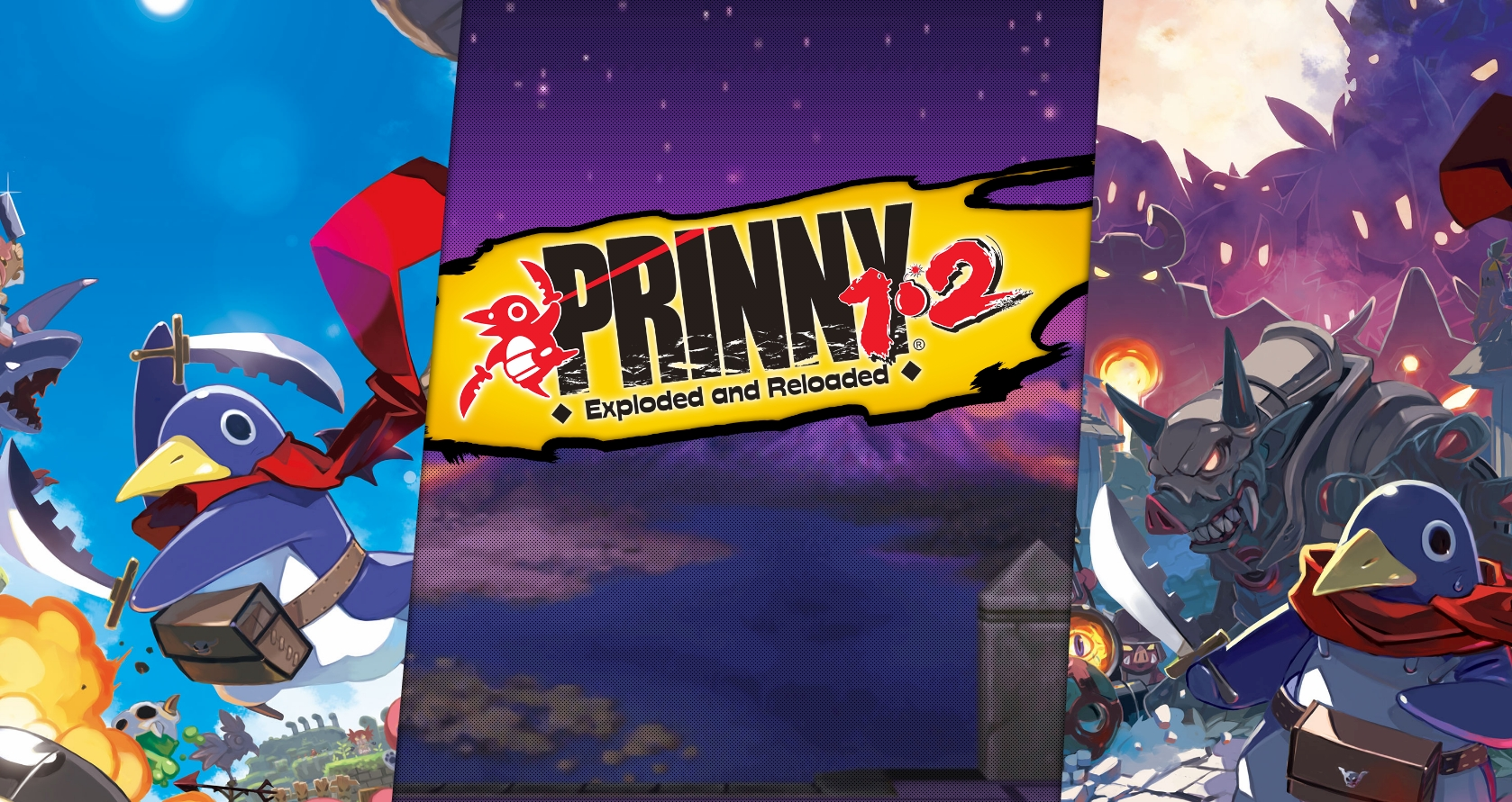 Prinny 1•2: Exploded and Reloaded Heads To Nintendo Switch This Fall