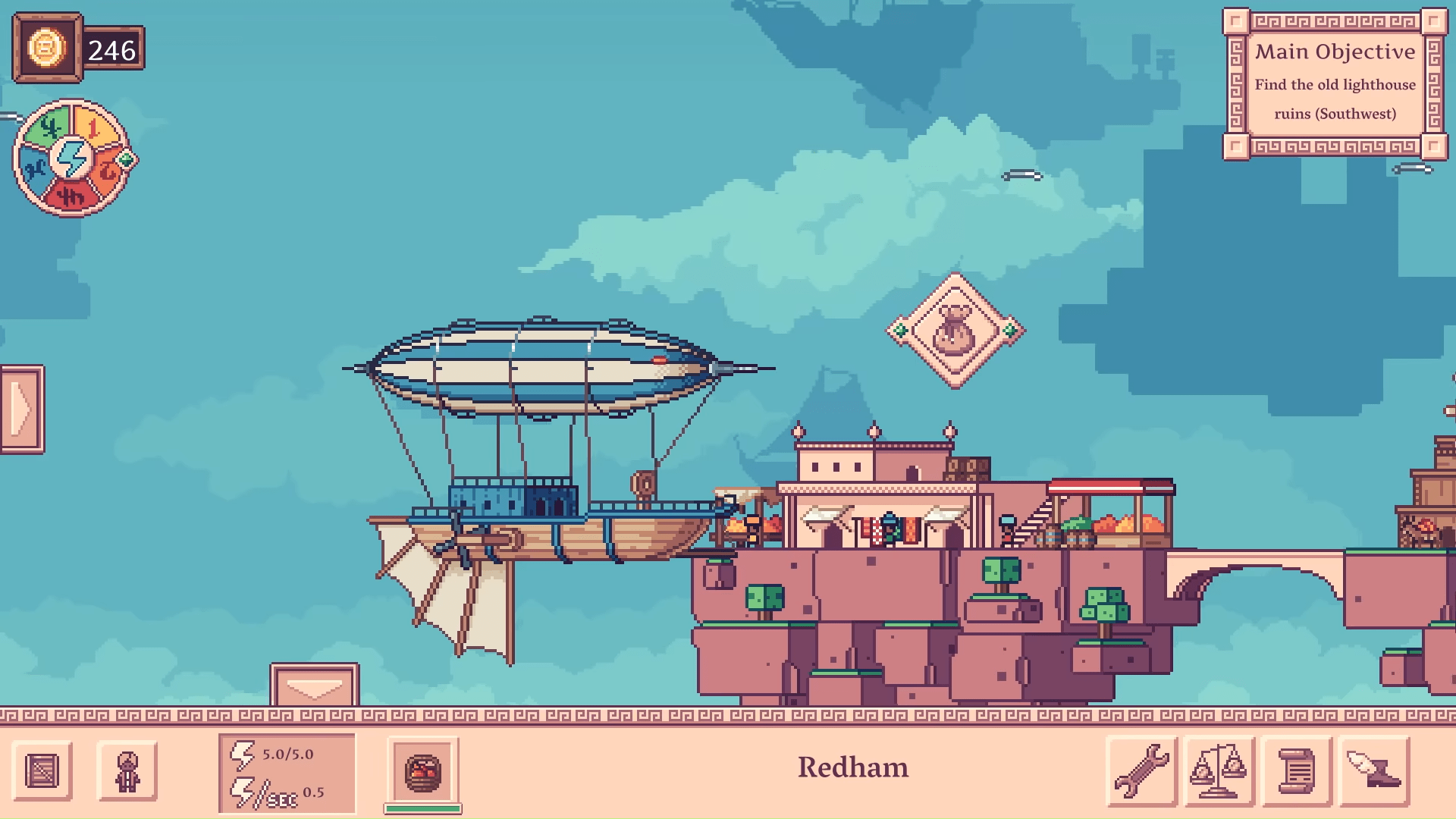 What Is Merchant Of The Skies? A Charming Indie Trading Game With Flying Turtles And Dirigible Cities Available On Steam