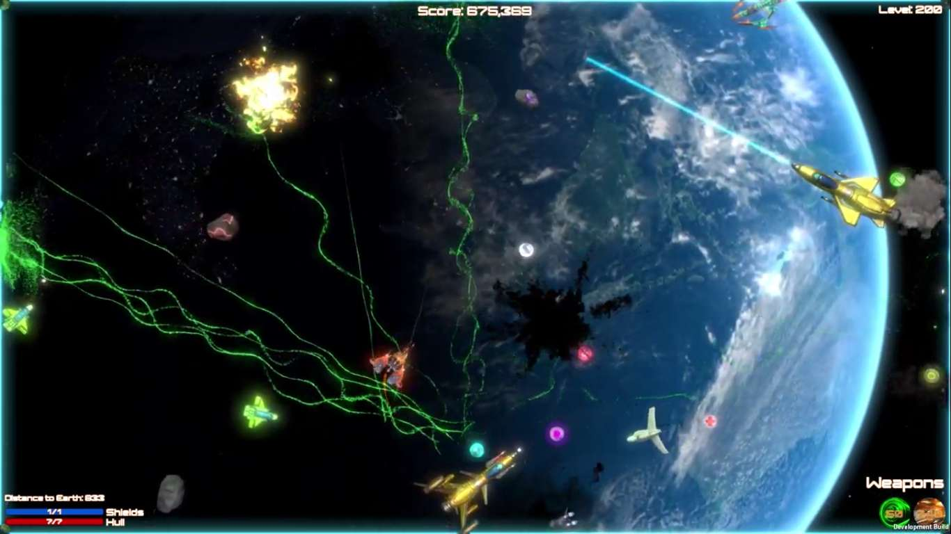 Shooting Blaster Big Bang Boom Is A New Bullet Hell That Has Released On Steam, SRM Title That Can Be Played On Most Computers