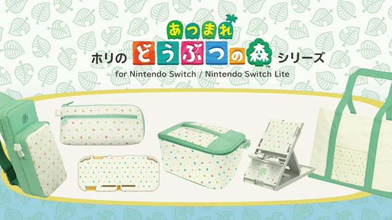 HORI Releases New Line Of Animal Crossing: New Horizons Accessories