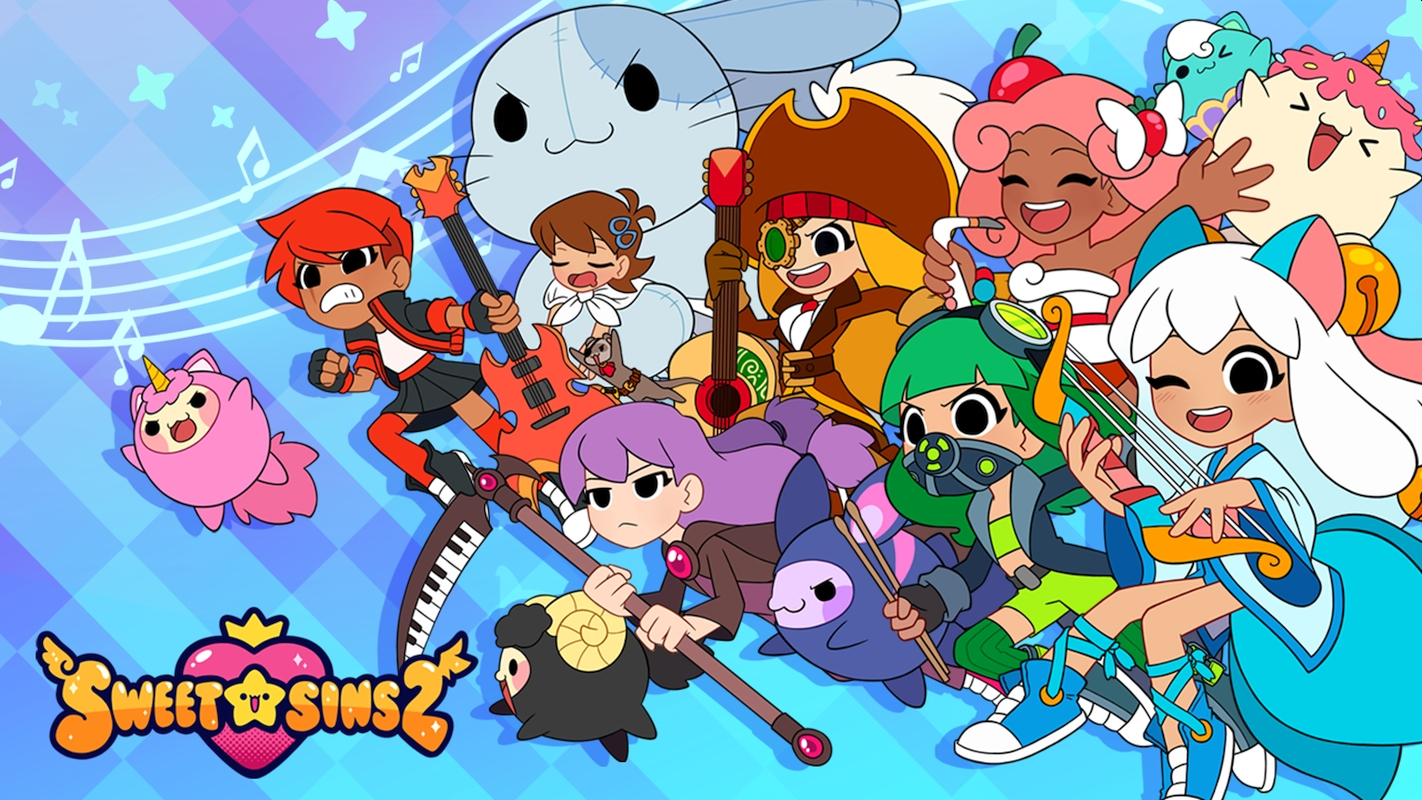 Platonic Games' Cute Rhythm Game Sweet Sins Superstar Enters Google Play Early Access