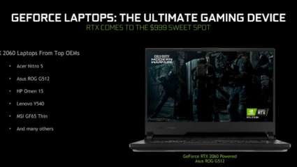 NVIDIA Plans To Rebuild GeForce Laptops - With Prices Starting From $699 - $999 - And Also Newly Added Features