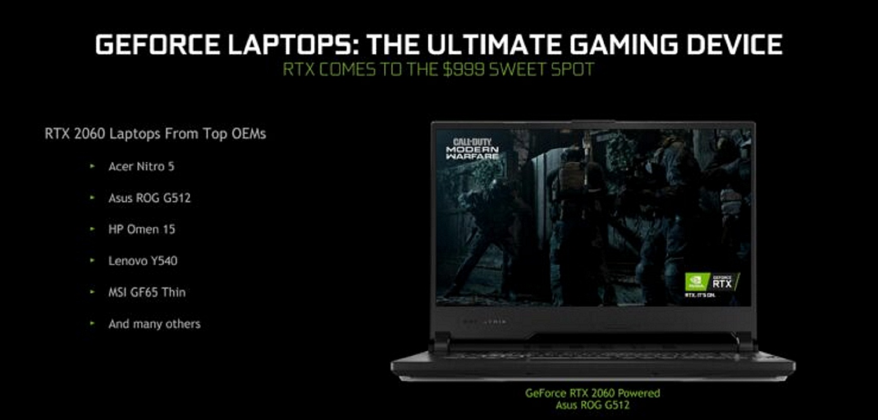 NVIDIA Plans To Rebuild GeForce Laptops – With Prices Starting From $699 – $999 – And Also Newly Added Features