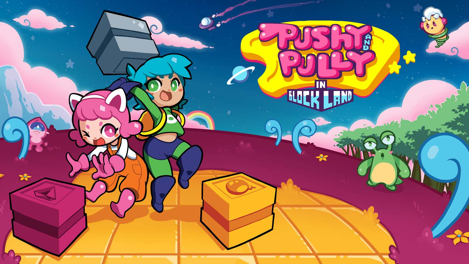 Pushy And Pully In Blockland Is Preparing For Its Steam Release Next Month, Console Release Expected Later In 2020