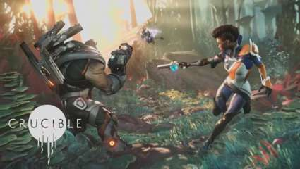 Amazon's Upcoming Sc-Fi Shooter Crucible Is Scheduled For A May,  A Fight For Survival And Control As You Battle Both Players And The Enviroment For Victory