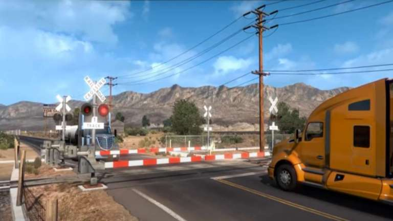 American Truck Simulator Has A COVID-19 Event Where Players Are Tasked With Delivering Vaccines