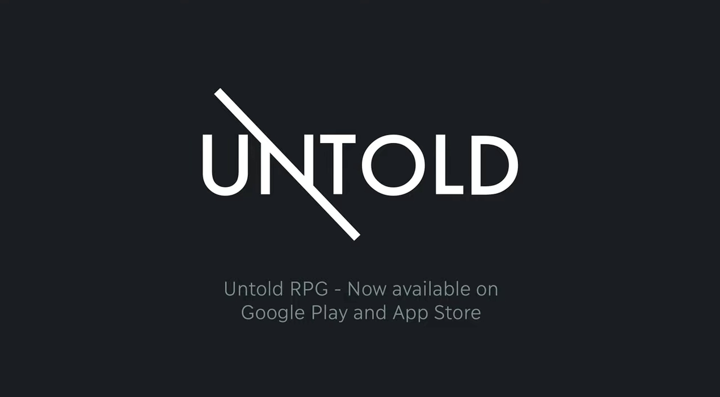 Text-Based RPG Untold Now Available On Mobile Devices