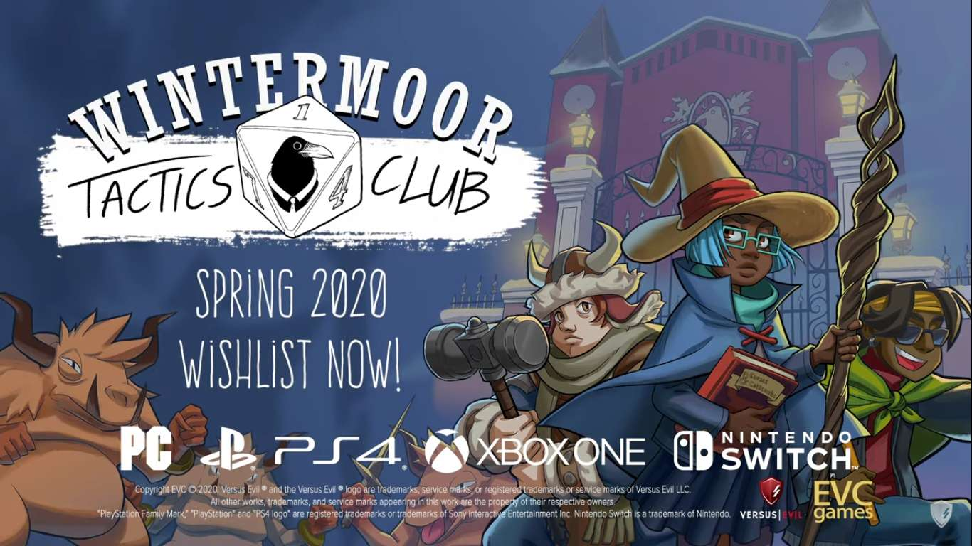 Wintermoor Tactics Club Is Coming To Steam On May 5, A New Tactical RPG Combined With A Visual Novel