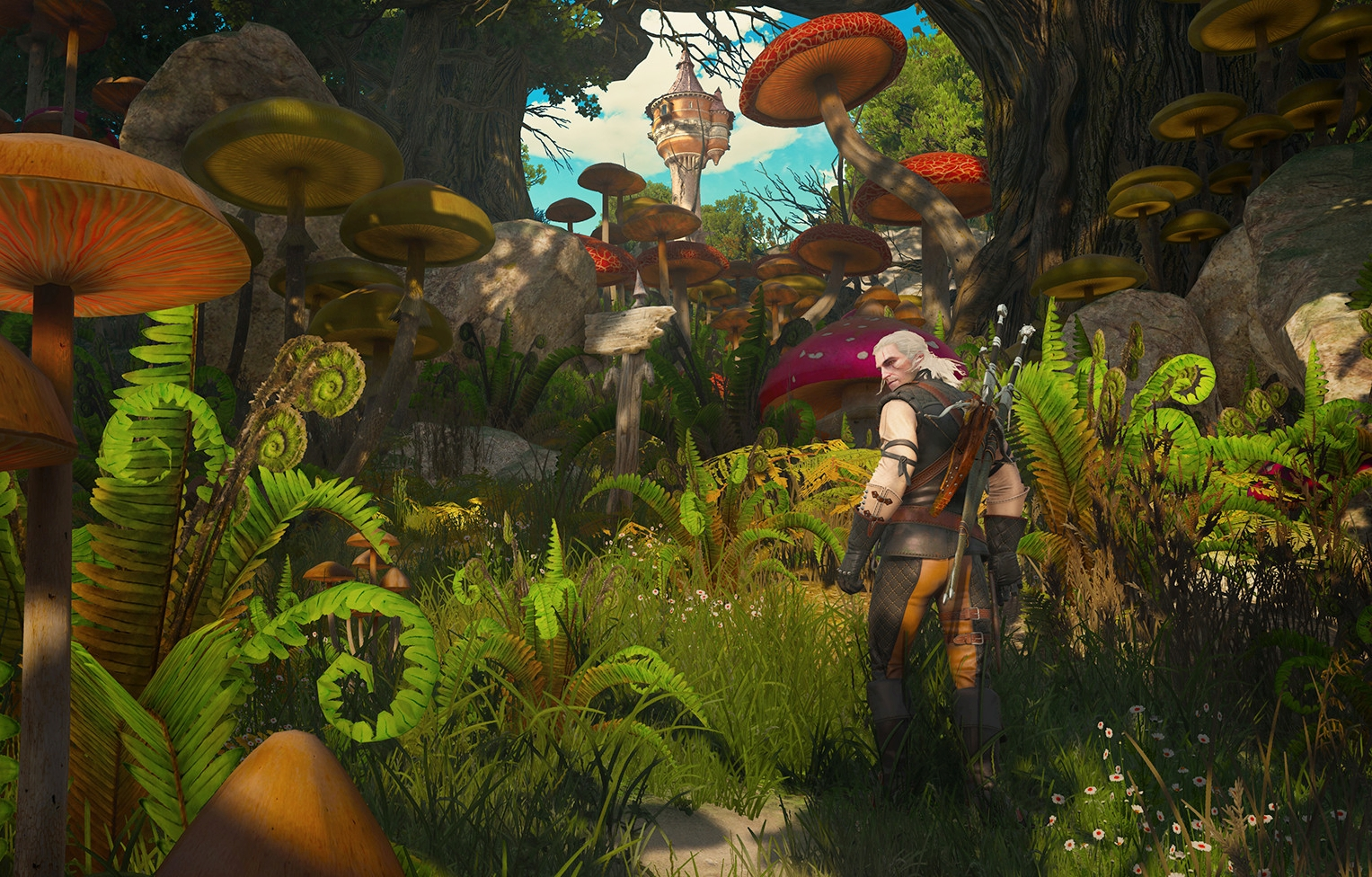The Witcher 3 HD Reworked Mod Version 11.0 Released With New Content
