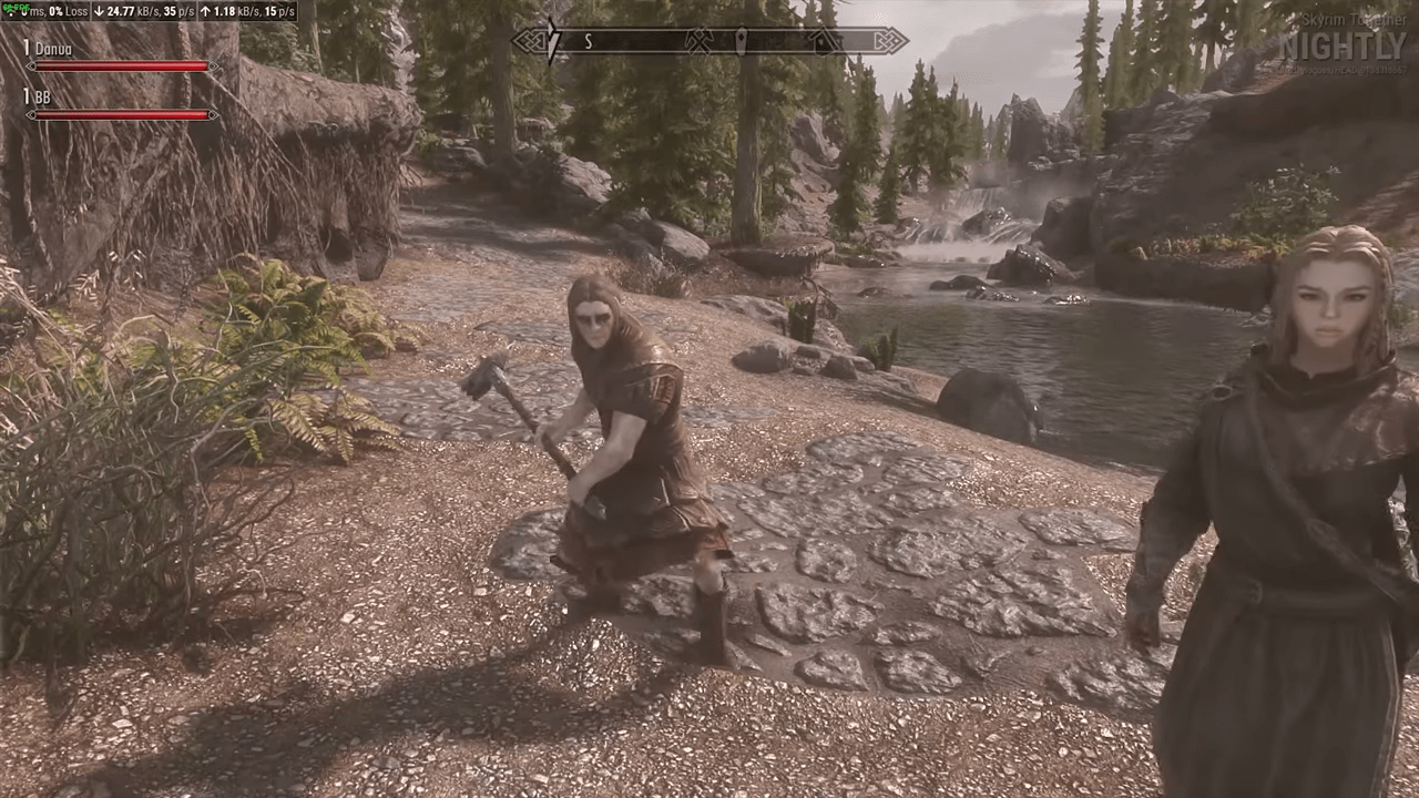 Skyrim Together: Multiplayer Skyrim Mod In Open Beta And Available To Public