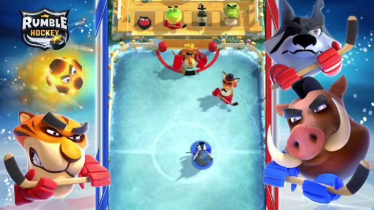 Rumble Hockey Is Sliding Its Way To Android Devices Offering A Free To Play Experience For Fans To Enjoy