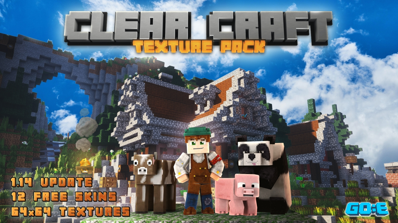 Minecraft's New Realms Plus, Three New Texture Packs Added!