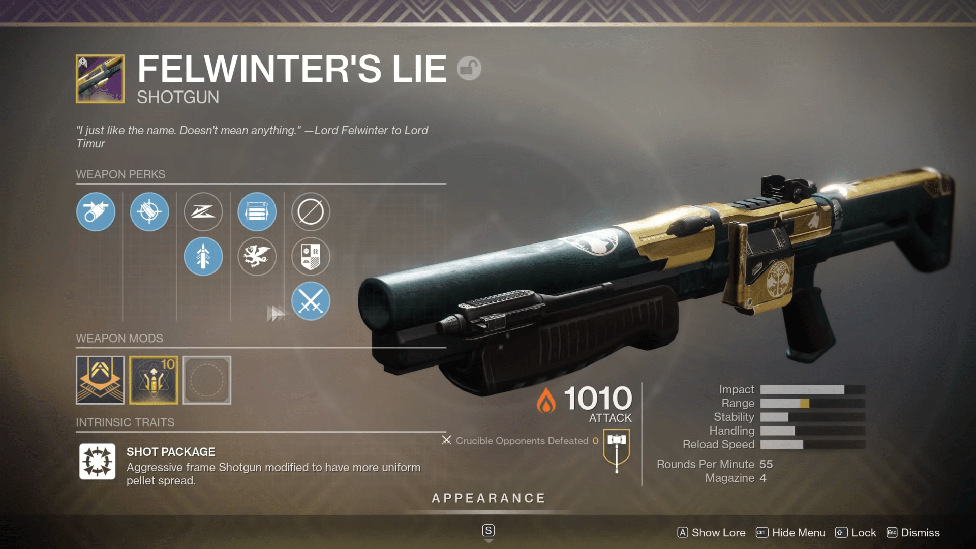 Destiny 2 The Lie Quest Walkthrough – How To Obtain Fellwinter's Lie Legendary Shotgun