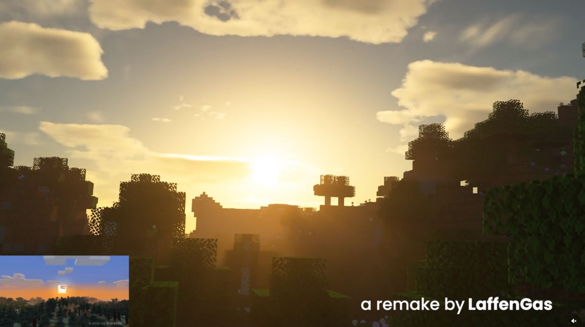 Reddit User LaffenGas Re-Created The Original 2011 Minecraft Trailer With RTX On
