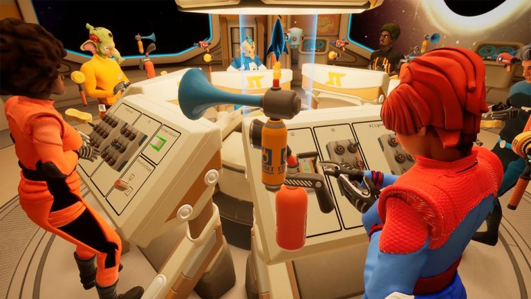 Blast Off In This New Cooperative VR Space Adventure, Only By Working Together Can You Survive This Party Game