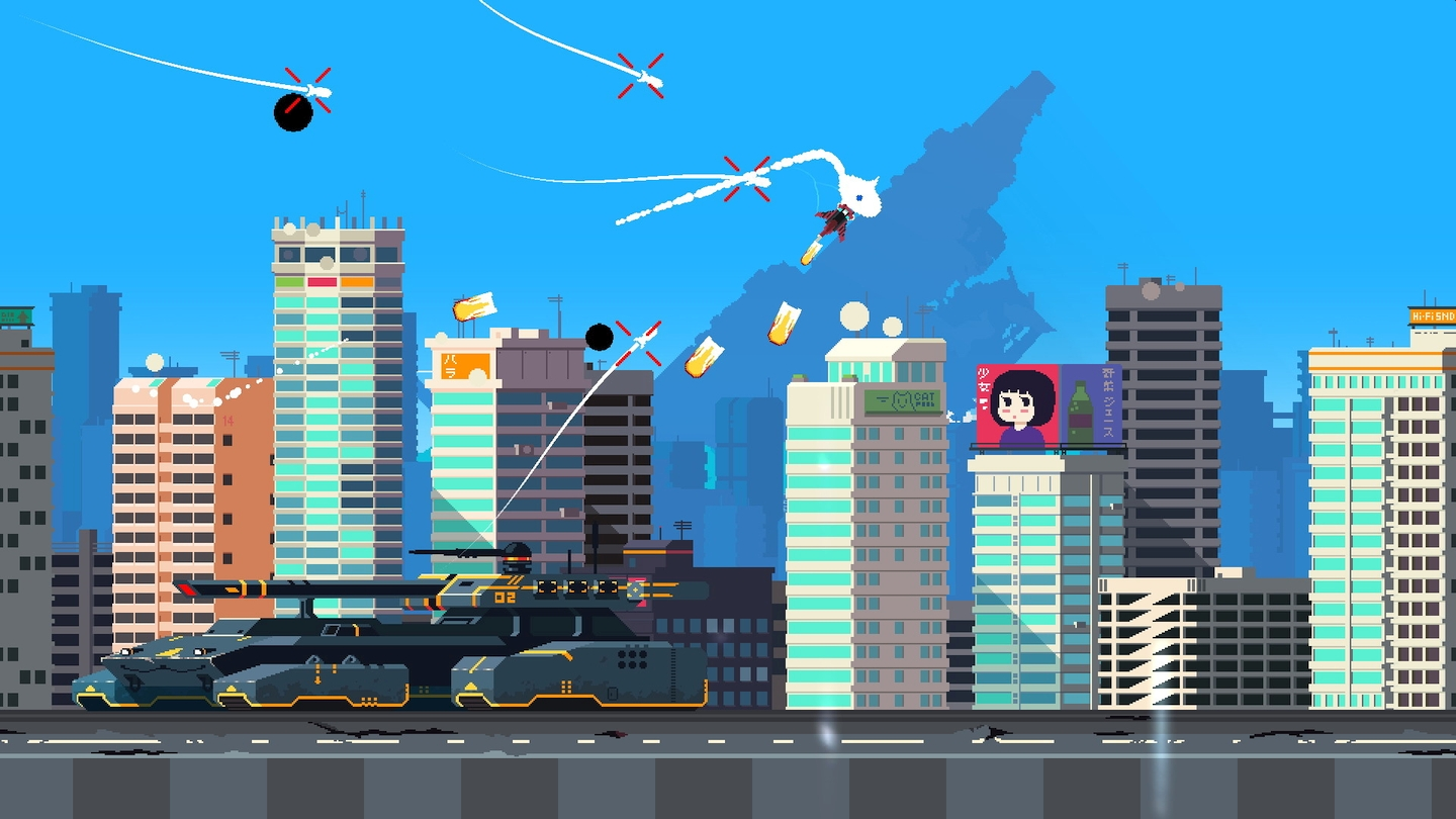 Code Wakers' Jet Lancer Flies Onto Nintendo Switch This May