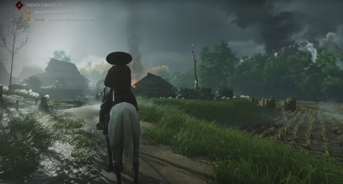 Ghost Of Tsushima's Most Recent Gameplay Trailer Looks Beautiful And Impressive