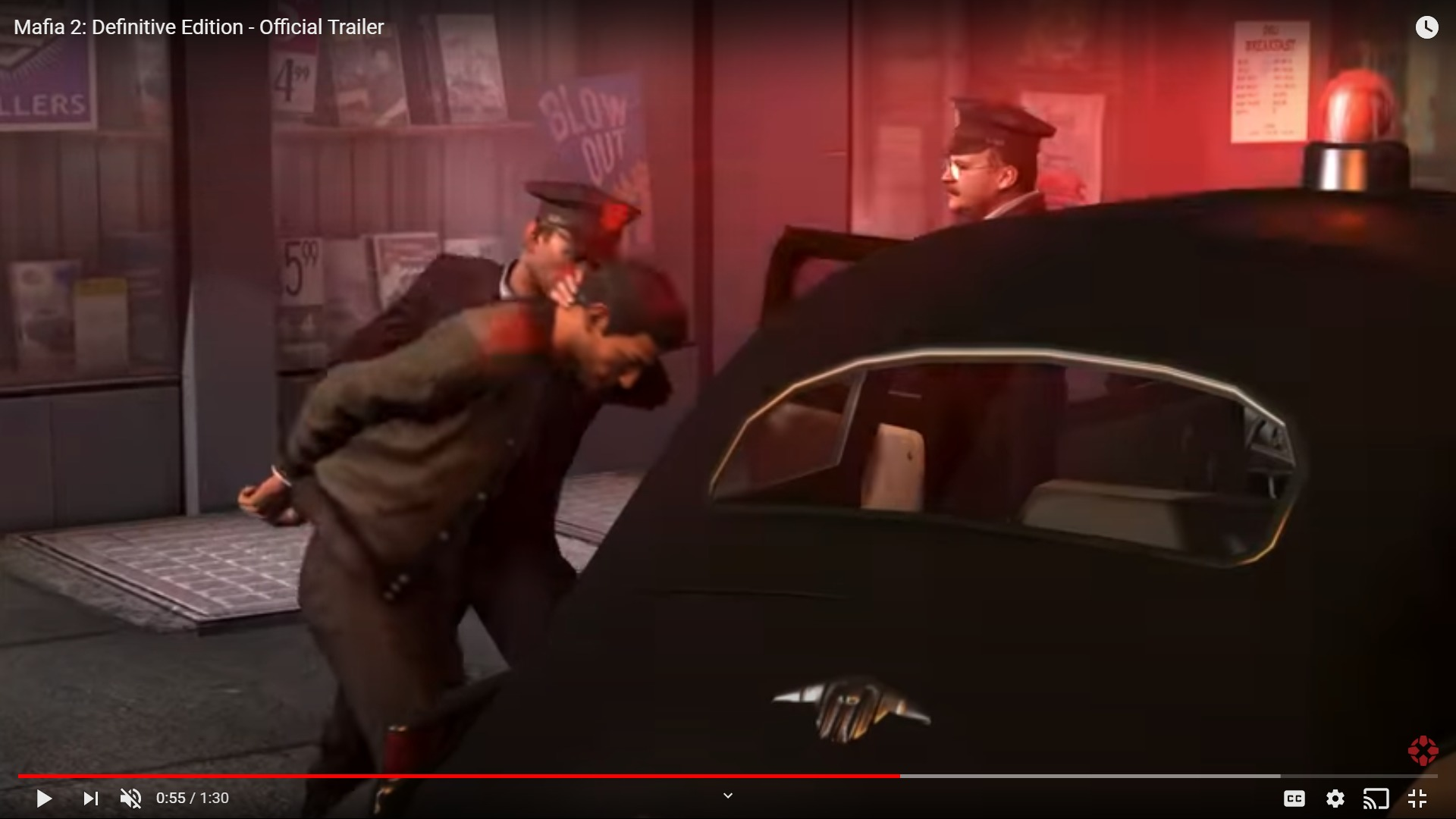 Mafia 2 And 3 Definitive Editions Are Available Now For Those Who Pre-Order Mafia: Trilogy Before August 28