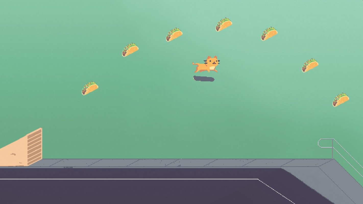 Casual Skateboarding Pixel Game Dr. Tacocat Launches On Steam