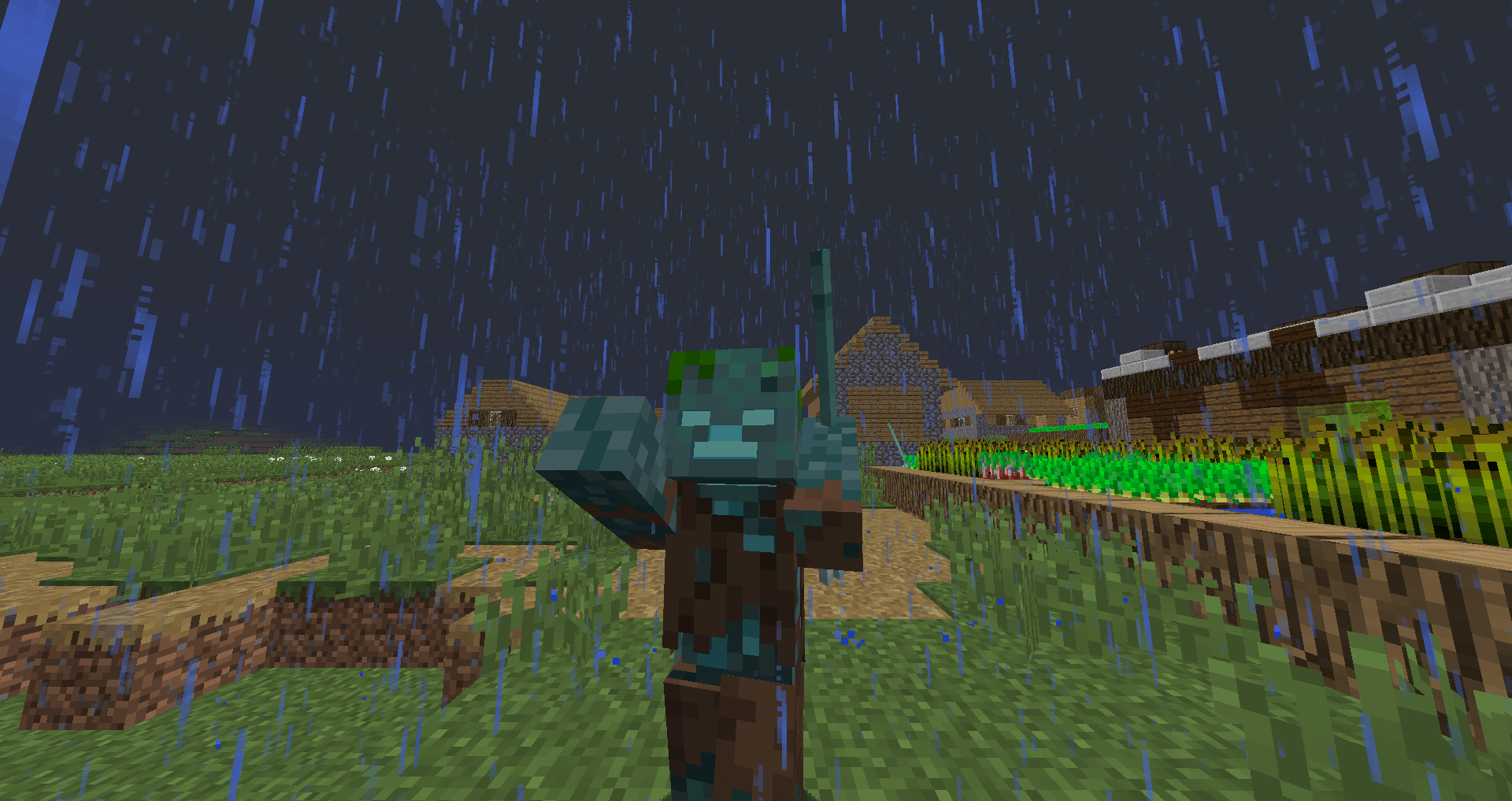 Minecraft Mobs Explored: The Drowned, An Underwater Zombie That Can Utilize A Trident