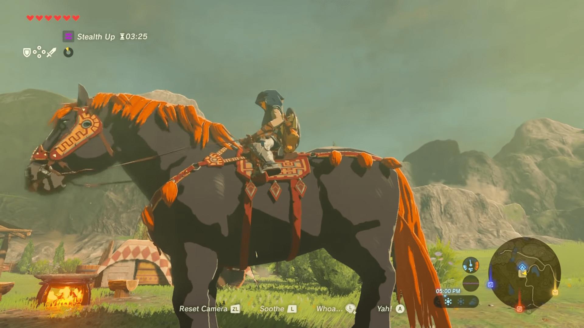 How To Get Ganondorf's Giant Horse In The Legend Of Zelda: Breath Of The Wild