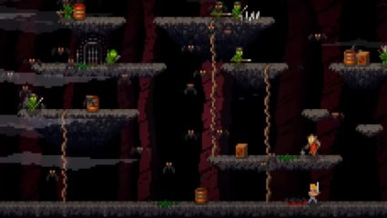 The Retro Roguelike Thy Sword Is Out Now On PS4 And PSVita