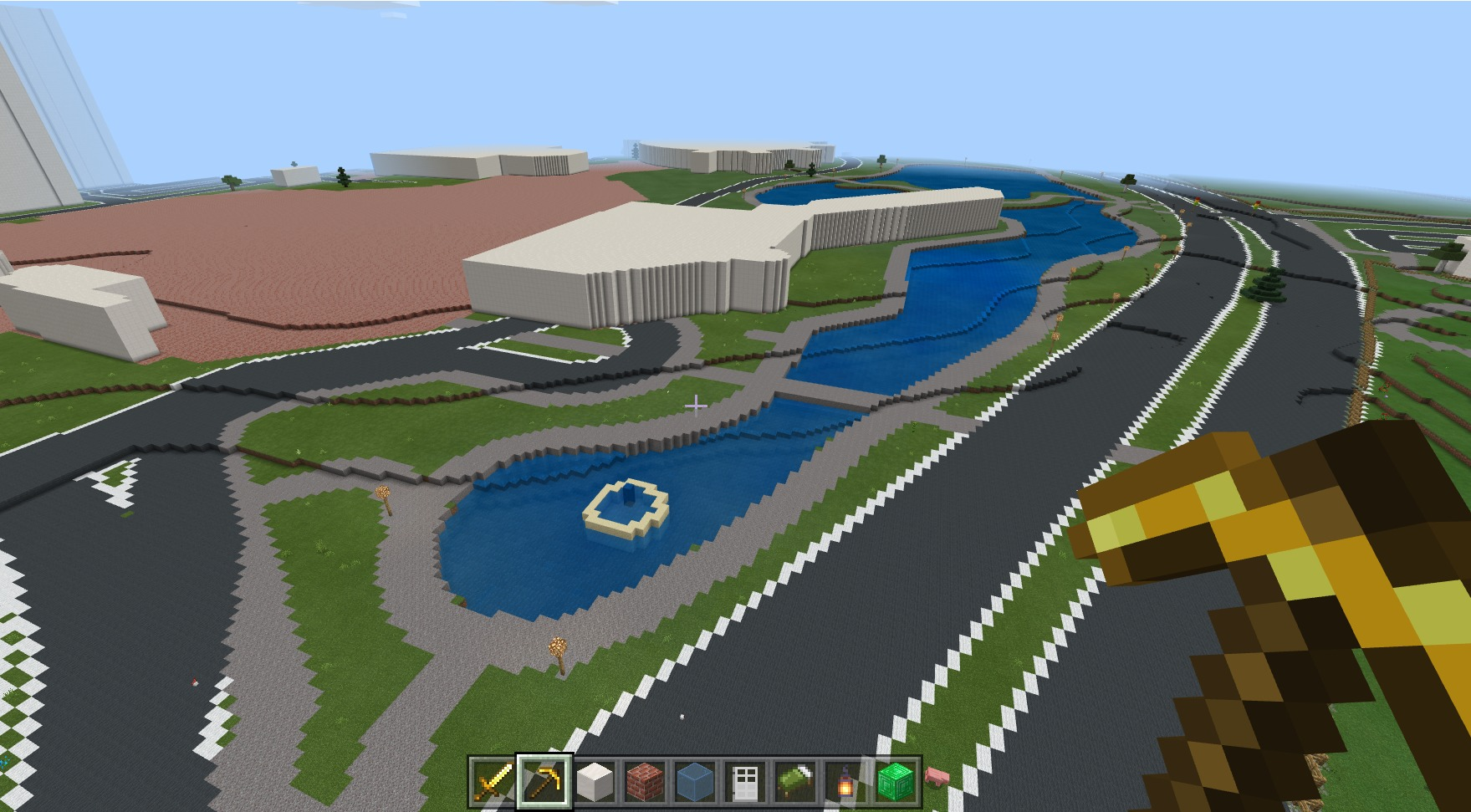 GeoBoxers Built Downtown Long Beach In Minecraft!