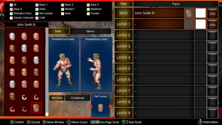 Spike Chunsoft's Fire Pro Wrestling World Adds Custom Parts Craft DLC