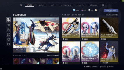 Destiny 2 Weekly Reset For May 5th, 2020 Through Until May 11th Hosts The Last Week Of The Guardian Games