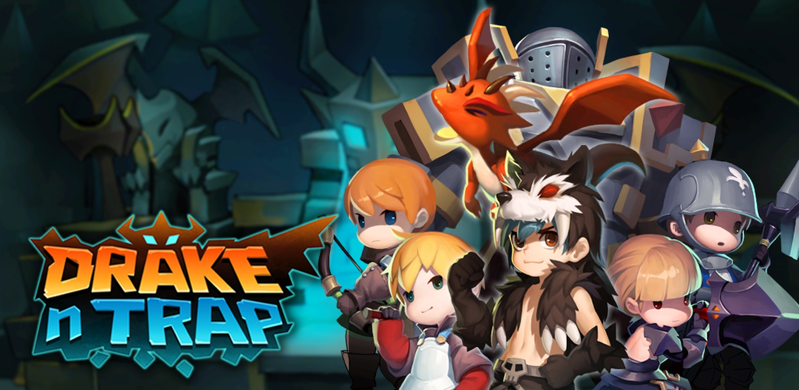 Dungeon Crawling RPG Drake N Trap Now Available On Mobile