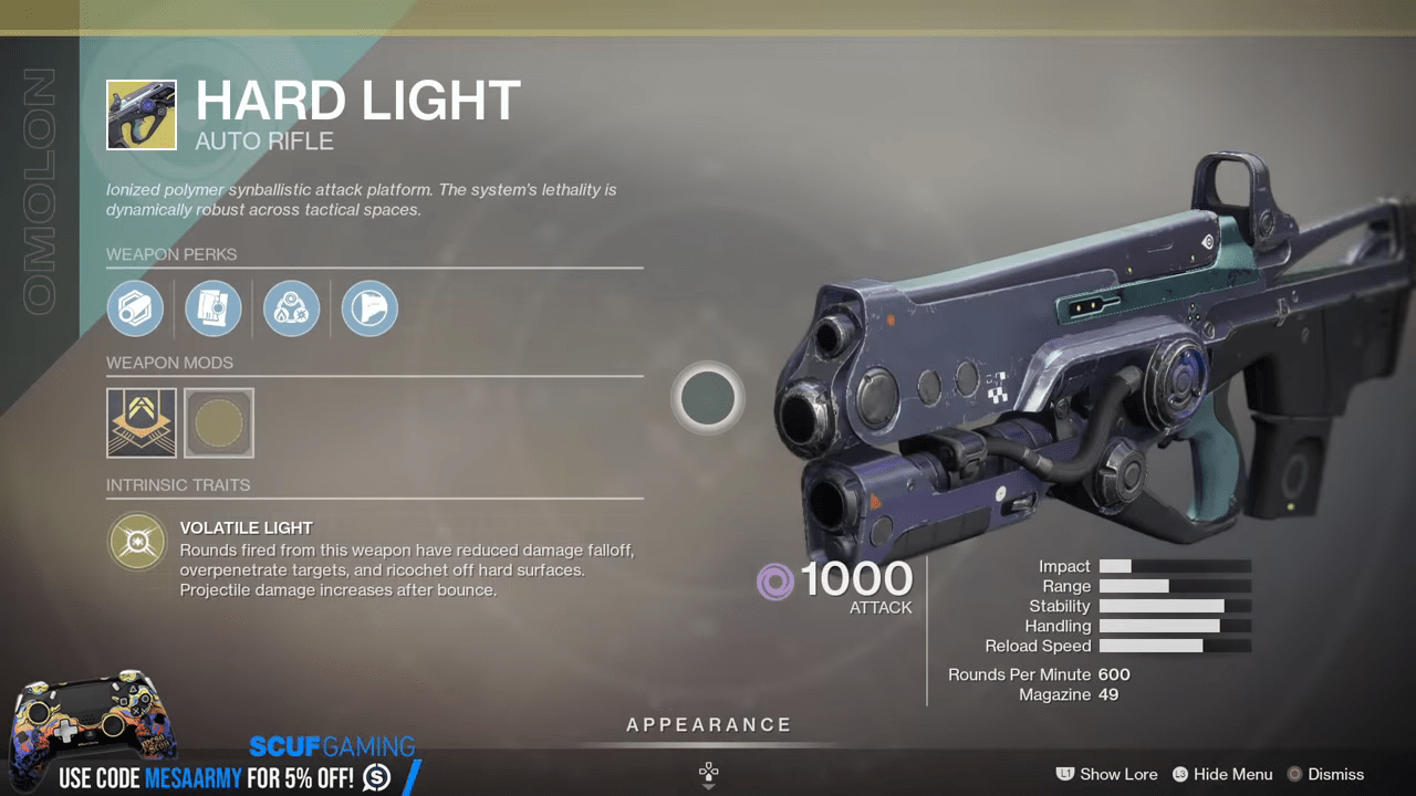 Destiny 2 Agent Of The Nine Friday Reset Exotic Inventory For The Week Of May 8th