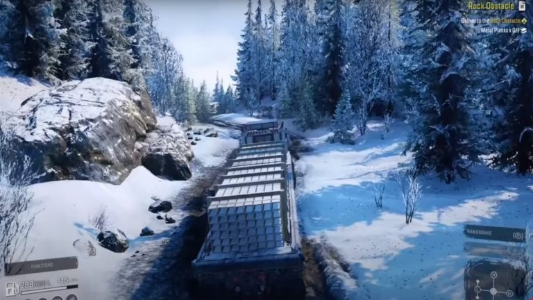 SnowRunner Is Out Now And Is Receiving Positive Praises For Its Realism And Environments