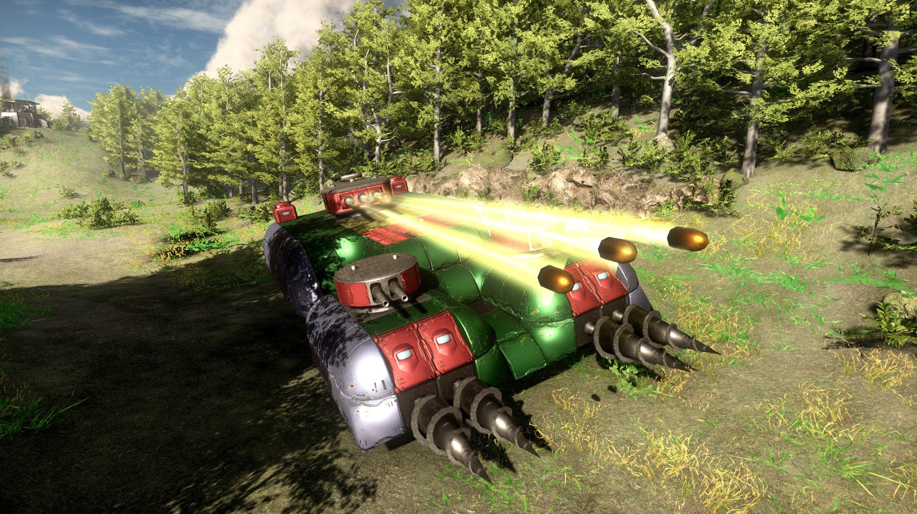 Dieselpunk Wars: Prologue Now Available Free Ahead Of Full Game Release