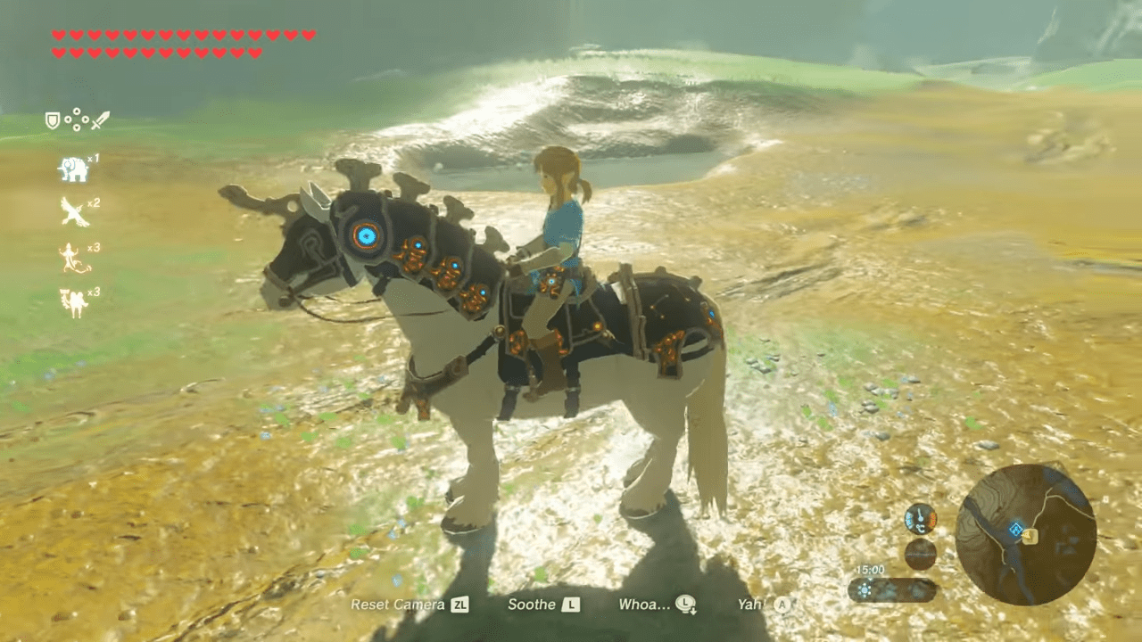 How To Find The Ancient Saddle And Ancient Bridle In The Legend Of Zelda: Breath Of The Wild DLC, Champion's Ballad