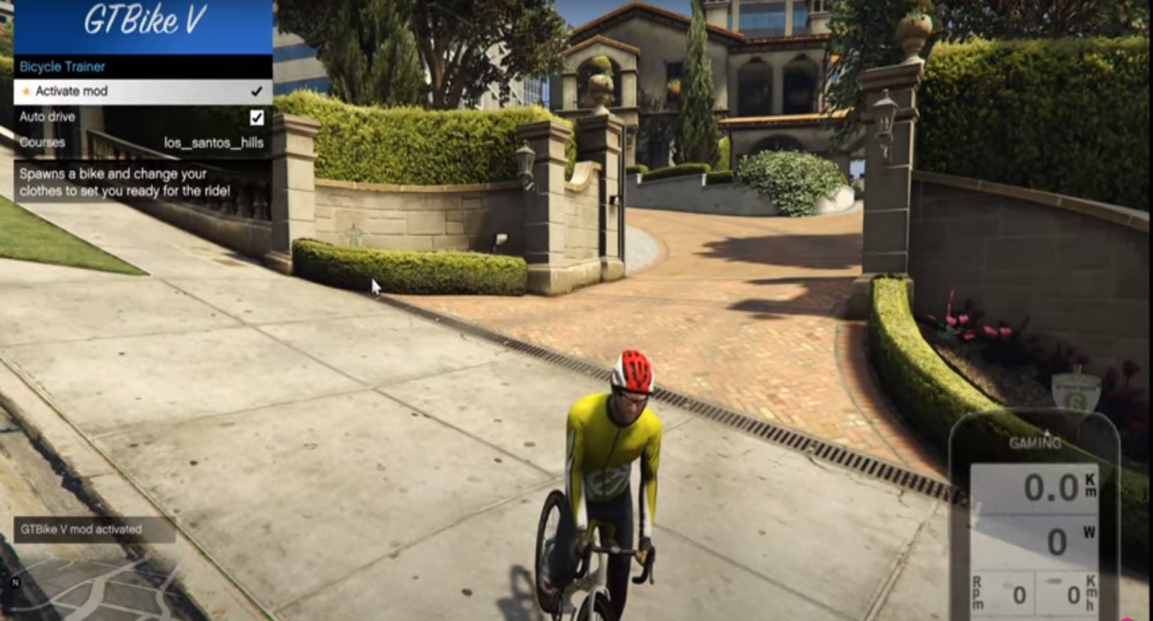 GTA 5 Now Has A Mod That Lets Players Exercise With Smart Bike Trainers