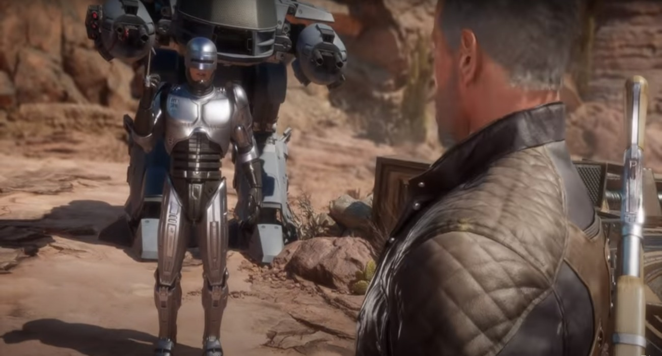 Mortal Kombat 11's Latest Aftermath Trailer Showcases Terminator Vs RoboCop