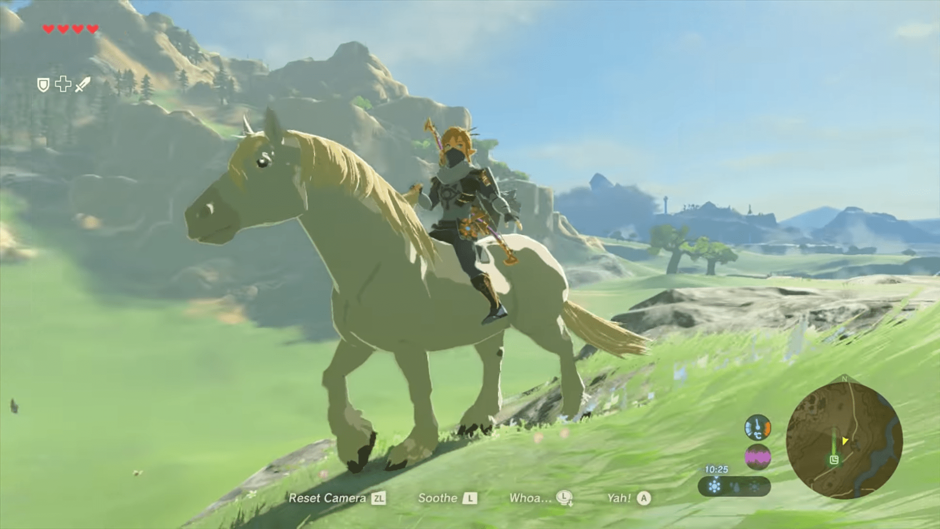 How To Get The Royal White Stallion In The Legend Of Zelda: Breath Of The Wild