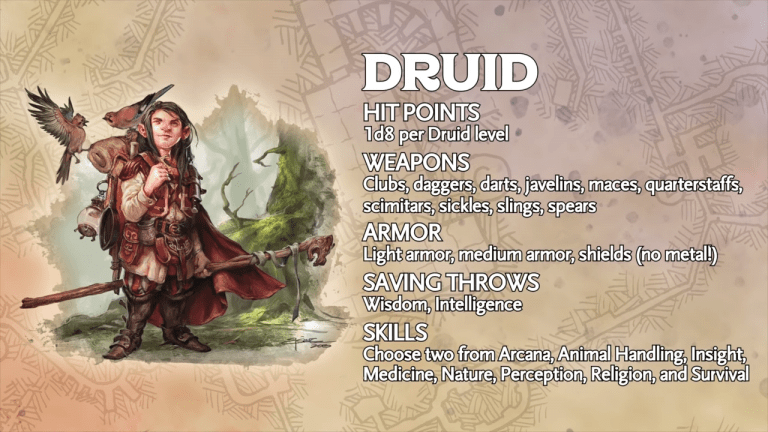 The Circle Of The Stars: Wizards Of The Coast's Newest Druid Subclass Is Out Of This World