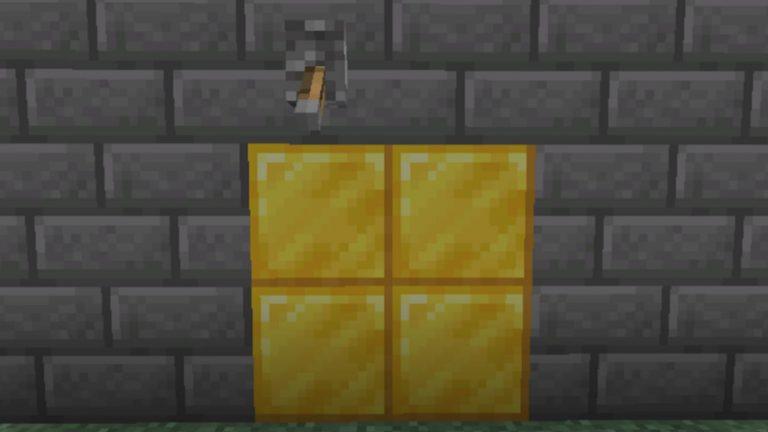 How to Make A Hidden Door In Minecraft, To Easily Hide Away A Secret Room In Your Base