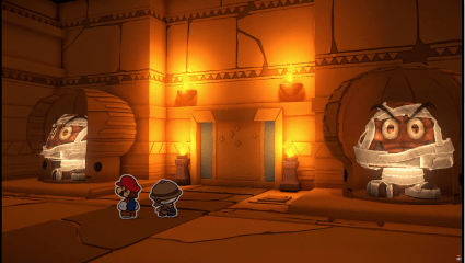 Paper Mario: The Origami King Releases New Trailer That Showcases New Boss Fights