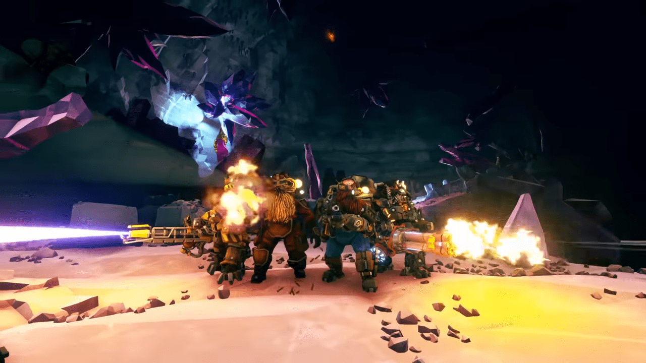 Deep Rock Galactic Rolls Out Update 31 Which Offers New Secondary Objectives