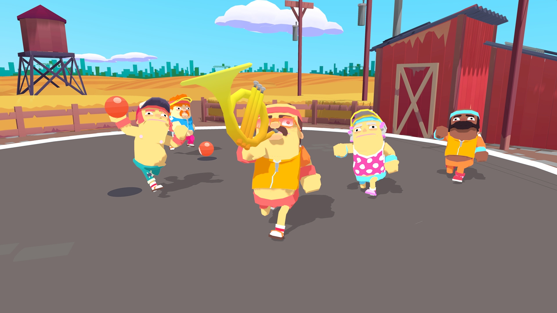Game Swing's Zany Dodgeball Game OddBallers Heads To Early Access Later This Year
