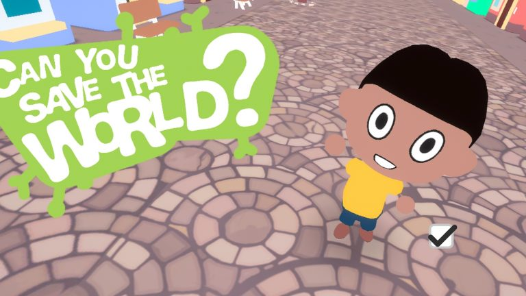 Can You Save The World? Is a Free Online Browser Game That Teaches Importance Of Social Distancing