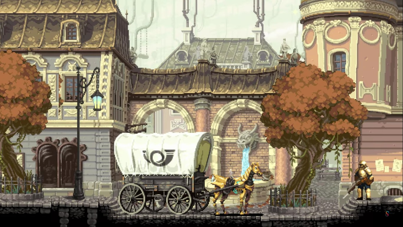 Gestalt: Steam & Cinder Is Releasing A Beautiful Pixel Art Adventure On Steam With A Demo Planned For June 16