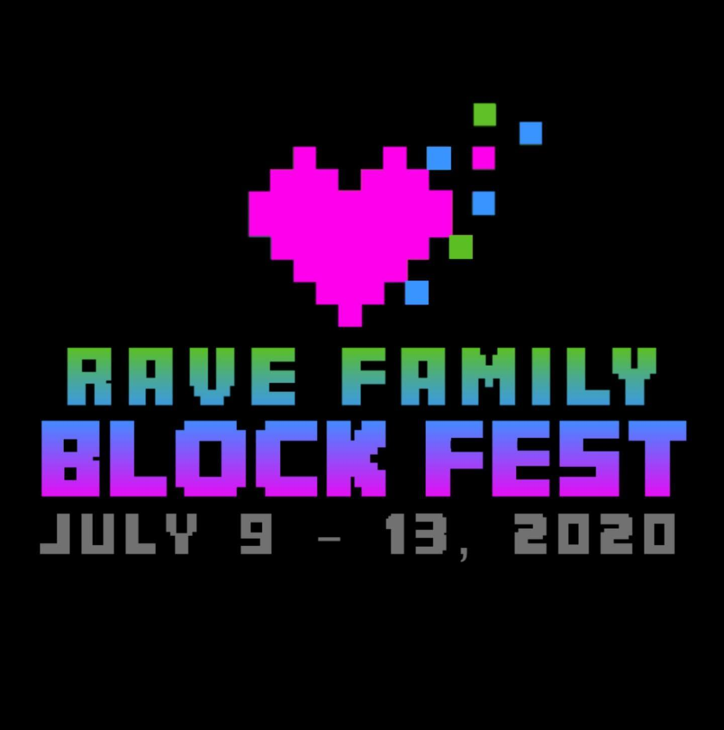 The Minecraft Festival Called Electric Blockaloo Has Changed Its Name Changed to Rave Family Block Fest!